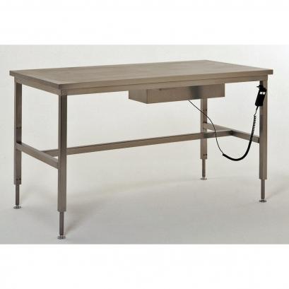 61 Table de conditionnement inox à hauteur variable