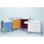 Chariots d'anesthésie et de soins